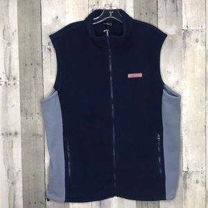Vineyard Vines Fleece Mooring Vest Sz XL NWT